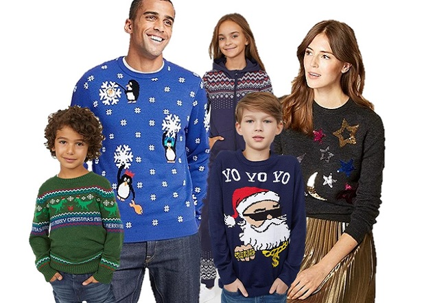 Festive Jumpers for the Whole Family